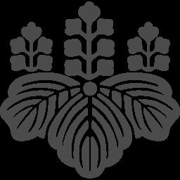 桐の家紋アイコン アイコン素材ダウンロードサイト Icooon Mono 商用利用可能なアイコン素材が無料 フリー ダウンロードできるサイト
