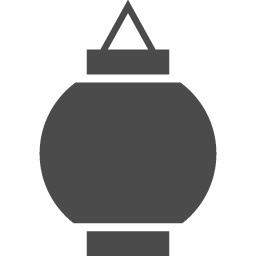 シンプルな提灯のアイコン アイコン素材ダウンロードサイト Icooon Mono 商用利用可能なアイコン素材が無料 フリー ダウンロードできるサイト