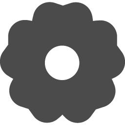 家紋っぽい花アイコン3 アイコン素材ダウンロードサイト Icooon Mono 商用利用可能なアイコン 素材が無料 フリー ダウンロードできるサイト