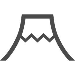 富士山のフリーアイコン アイコン素材ダウンロードサイト Icooon Mono 商用利用可能なアイコン素材が無料 フリー ダウンロードできるサイト