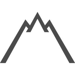和風の山アイコン アイコン素材ダウンロードサイト Icooon Mono 商用利用可能なアイコン素材が無料 フリー ダウンロードできるサイト
