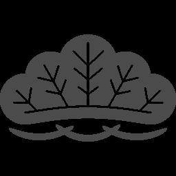 和風の松のイラスト アイコン素材ダウンロードサイト Icooon Mono 商用利用可能なアイコン素材が無料 フリー ダウンロードできるサイト