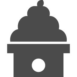 お正月に鏡餅アイコン アイコン素材ダウンロードサイト Icooon Mono 商用利用可能なアイコン素材が無料 フリー ダウンロードできるサイト