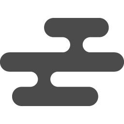 和風の雲のアイコン アイコン素材ダウンロードサイト Icooon Mono 商用利用可能なアイコン素材が無料 フリー ダウンロードできるサイト