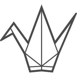 折鶴のアイコン アイコン素材ダウンロードサイト Icooon Mono 商用利用可能なアイコン素材が無料 フリー ダウンロードできるサイト
