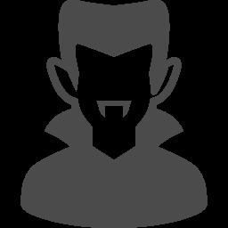 バンパイアのフリーアイコン アイコン素材ダウンロードサイト Icooon Mono 商用利用可能なアイコン素材が無料 フリー ダウンロードできるサイト