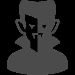 ドラキュラ伯爵のイラスト素材 アイコン素材ダウンロードサイト Icooon Mono 商用利用可能なアイコン素材が無料 フリー ダウンロードできるサイト
