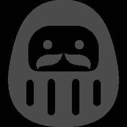 かわいい達磨のアイコン アイコン素材ダウンロードサイト Icooon Mono 商用利用可能なアイコン 素材が無料 フリー ダウンロードできるサイト