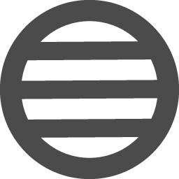 引両紋 丸に三つ引 家紋アイコン アイコン素材ダウンロードサイト Icooon Mono 商用利用可能なアイコン 素材が無料 フリー ダウンロードできるサイト