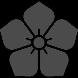明智光秀の桔梗の家紋アイコン アイコン素材ダウンロードサイト Icooon Mono 商用利用可能なアイコン 素材が無料 フリー ダウンロードできるサイト