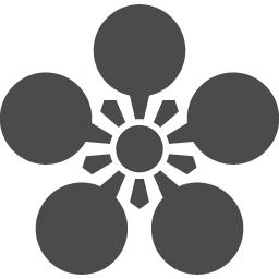 前田利家の家紋アイコン アイコン素材ダウンロードサイト Icooon Mono 商用利用可能なアイコン 素材が無料 フリー ダウンロードできるサイト
