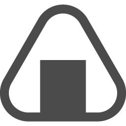 おにぎりのアイコン アイコン素材ダウンロードサイト Icooon Mono 商用利用可能なアイコン素材が無料 フリー ダウンロードできるサイト