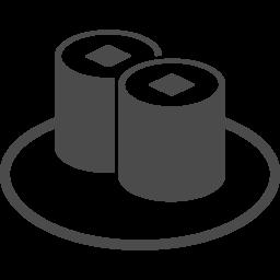 きゅうりやトロの軍艦巻きのアイコン アイコン素材ダウンロードサイト Icooon Mono 商用利用可能なアイコン素材が無料 フリー ダウンロードできるサイト