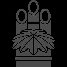 無料で使える門松のイラスト素材 アイコン素材ダウンロードサイト Icooon Mono 商用利用可能なアイコン素材が無料 フリー ダウンロードできるサイト
