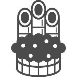 New Year S Pine Decoration Icon 3 アイコン素材ダウンロードサイト Icooon Mono 商用利用可能な アイコン素材が無料 フリー ダウンロードできるサイト