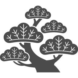 無料で使える松のアイコン アイコン素材ダウンロードサイト Icooon Mono 商用利用可能なアイコン 素材が無料 フリー ダウンロードできるサイト