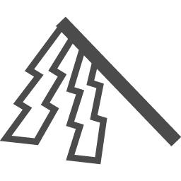 お払いに使う御幣のアイコン アイコン素材ダウンロードサイト Icooon Mono 商用利用可能なアイコン 素材が無料 フリー ダウンロードできるサイト