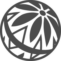 毬のアイコン アイコン素材ダウンロードサイト Icooon Mono 商用利用可能なアイコン素材が無料 フリー ダウンロードできるサイト