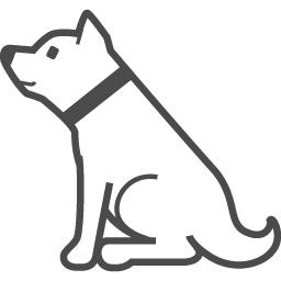 柴犬のイラスト2 アイコン素材ダウンロードサイト Icooon Mono 商用利用可能なアイコン素材が無料 フリー ダウンロードできるサイト