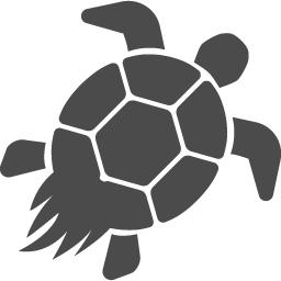 亀のフリーアイコン アイコン素材ダウンロードサイト Icooon Mono 商用利用可能なアイコン素材が無料 フリー ダウンロードできるサイト