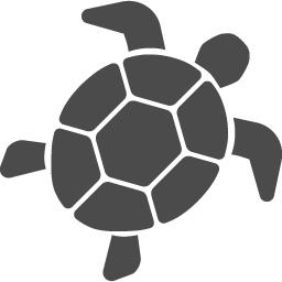 ウミガメのアイコン アイコン素材ダウンロードサイト Icooon Mono 商用利用可能なアイコン素材が無料 フリー ダウンロードできるサイト
