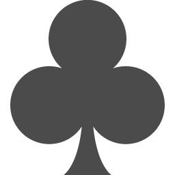 クローバーのマークの素材 アイコン素材ダウンロードサイト Icooon Mono 商用利用可能なアイコン素材が無料 フリー ダウンロードできるサイト