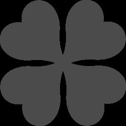 四葉のクローバーのイラスト素材 アイコン素材ダウンロードサイト Icooon Mono 商用利用可能なアイコン素材が無料 フリー ダウンロードできるサイト
