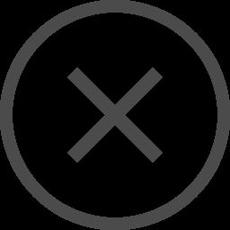 細いバツのアイコン2 アイコン素材ダウンロードサイト Icooon Mono 商用利用可能なアイコン素材が無料 フリー ダウンロードできるサイト