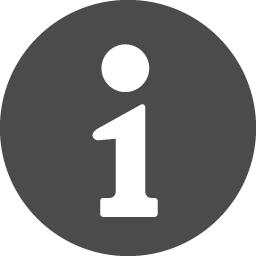 白抜きのインフォメーションアイコン アイコン素材ダウンロードサイト Icooon Mono 商用利用可能なアイコン素材が無料 フリー ダウンロードできるサイト