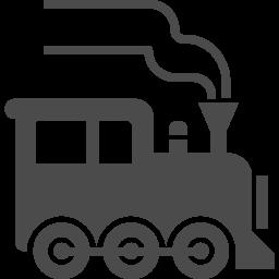 蒸気機関車のフリーアイコン アイコン素材ダウンロードサイト Icooon Mono 商用利用可能なアイコン素材 が無料 フリー ダウンロードできるサイト