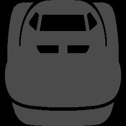 新幹線乗り場の公共標識 アイコン素材ダウンロードサイト Icooon Mono 商用利用可能なアイコン素材が無料 フリー ダウンロードできるサイト