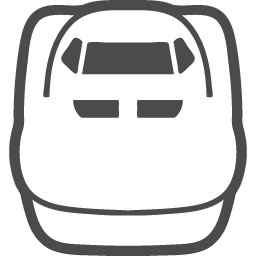 新幹線乗り場の線画アイコン アイコン素材ダウンロードサイト Icooon Mono 商用利用可能なアイコン素材が無料 フリー ダウンロードできるサイト