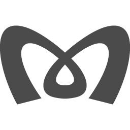 東京メトロのロゴマーク 2 アイコン素材ダウンロードサイト Icooon Mono 商用利用可能なアイコン素材が無料 フリー ダウンロードできるサイト