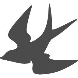 燕の無料アイコン アイコン素材ダウンロードサイト Icooon Mono 商用利用可能なアイコン素材が無料 フリー ダウンロードできるサイト