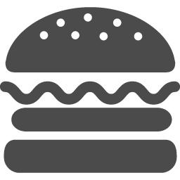 ハンバーガーのフリーアイコン アイコン素材ダウンロードサイト Icooon Mono 商用利用可能なアイコン素材が無料 フリー ダウンロードできるサイト