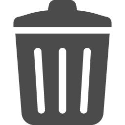 ごみ箱のフリーアイコン アイコン素材ダウンロードサイト Icooon Mono 商用利用可能なアイコン素材が無料 フリー ダウンロードできるサイト