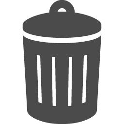 ゴミ箱のアイコン アイコン素材ダウンロードサイト Icooon Mono 商用利用可能なアイコン素材が無料 フリー ダウンロードできるサイト