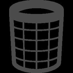 網タイプのゴミ箱アイコン アイコン素材ダウンロードサイト Icooon Mono 商用利用可能なアイコン 素材が無料 フリー ダウンロードできるサイト