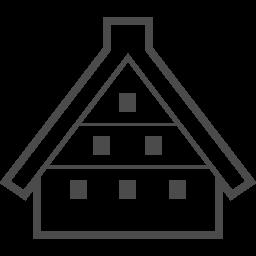 Historic Villages Of Shirakawa Go 1 アイコン素材ダウンロードサイト Icooon Mono 商用利用可能なアイコン素材が無料 フリー ダウンロードできるサイト