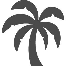 やしの木のシルエットイラスト アイコン素材ダウンロードサイト Icooon Mono 商用利用可能なアイコン 素材が無料 フリー ダウンロードできるサイト