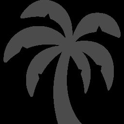 やしの木のシルエットイラスト アイコン素材ダウンロードサイト Icooon Mono 商用利用可能なアイコン素材が無料 フリー ダウンロードできるサイト