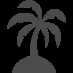 無人島のアイコン アイコン素材ダウンロードサイト Icooon Mono 商用利用可能なアイコン素材が無料 フリー ダウンロードできるサイト