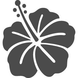 ハイビスカスのフリーイラスト アイコン素材ダウンロードサイト Icooon Mono 商用利用可能なアイコン素材が無料 フリー ダウンロードできるサイト