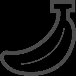 無料バナナアイコン アイコン素材ダウンロードサイト Icooon Mono 商用利用可能なアイコン素材が無料 フリー ダウンロードできるサイト