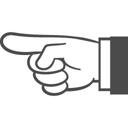 指差しカーソルアイコン アイコン素材ダウンロードサイト Icooon Mono 商用利用可能なアイコン 素材が無料 フリー ダウンロードできるサイト