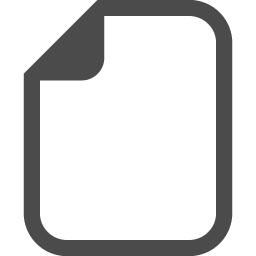 白紙の書類アイコン アイコン素材ダウンロードサイト Icooon Mono 商用利用可能なアイコン素材が無料 フリー ダウンロードできるサイト