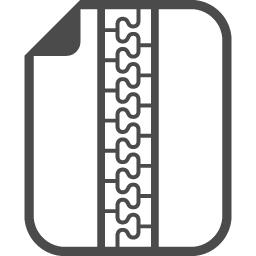 無料zipファイルアイコン アイコン素材ダウンロードサイト Icooon Mono 商用利用可能なアイコン素材が無料 フリー ダウンロードできるサイト
