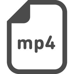 Mp4アイコン アイコン素材ダウンロードサイト Icooon Mono 商用利用可能なアイコン素材が無料 フリー ダウンロードできるサイト