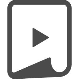 Movie File 5 アイコン素材ダウンロードサイト Icooon Mono 商用利用可能なアイコン 素材が無料 フリー ダウンロードできるサイト