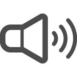 可愛いスピーカーアイコン アイコン素材ダウンロードサイト Icooon Mono 商用利用可能なアイコン 素材が無料 フリー ダウンロードできるサイト